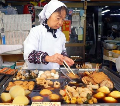 Street Food in Japonia